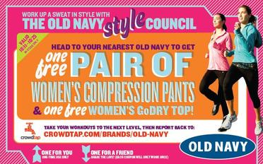 Old Navy Activewear Sample Share